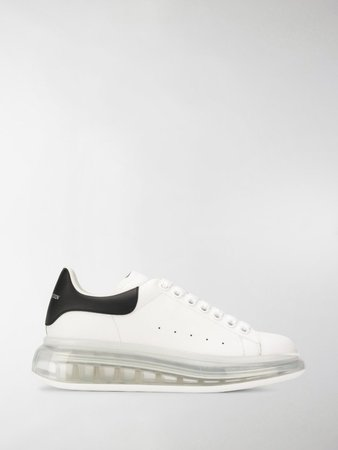 clear sole Oversized sneakers