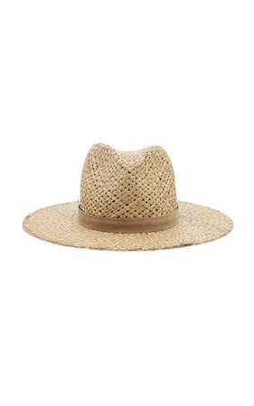 Leigh Straw Hat By Janessa Leone   Moda Operandi