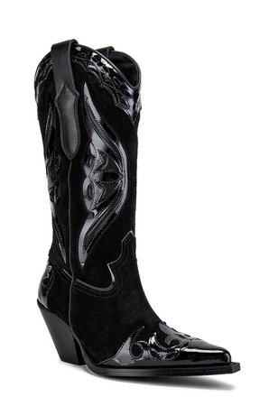 TORAL The Claire Boot in Black   REVOLVE