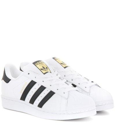 Superstar 레더 스니커즈 - Adidas Originals |