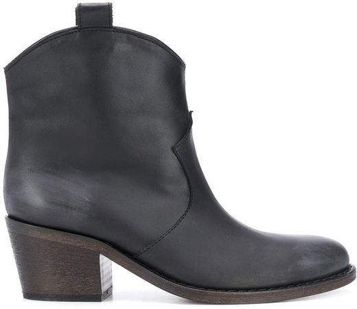 Side-Tab Ankle Boots