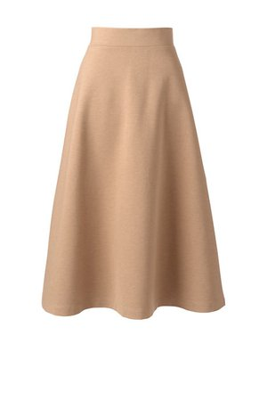 Women's Ponte Knit Midi Skirt from Lands' End