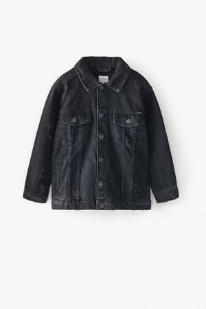 RIPPED DENIM JACKET | ZARA United States