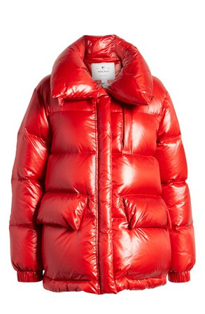 Woolrich Alquippa Water Repellent Puffy Down Coat | Nordstrom