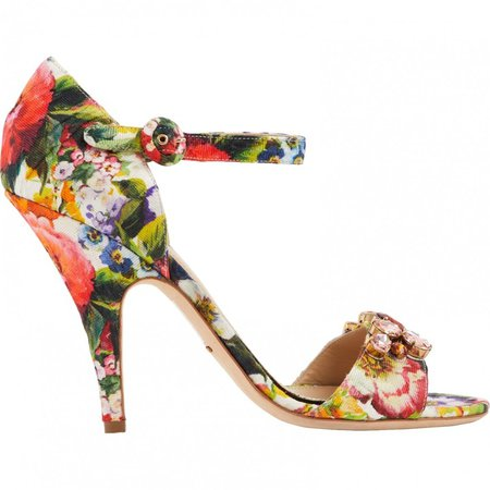 Multicolour Cloth Sandals