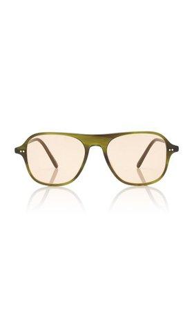 Nilos Square-Frame Acetate Sunglasses By Oliver Peoples | Moda Operandi