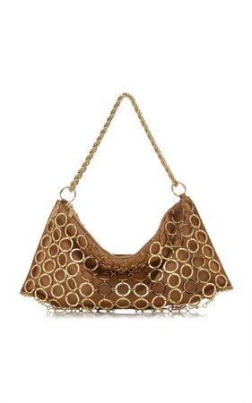 Hera Mini Chain Leather Shoulder Bag By Cult Gaia   Moda Operandi