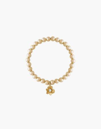 Alexa Leigh Golden Flower Bracelet