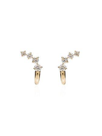 Melissa Kaye 18K Gold Aria Dagger Diamond Earrings E1812AY   Farfetch