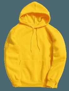 Mustard yellow hoodie