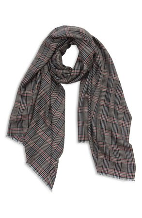 Check Cashmere Scarf | Nordstrom
