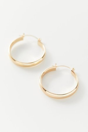Shelby Basic Hoop Earring | Urban Outfitters