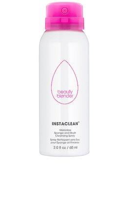 beautyblender InstaClean Waterless Sponge & Brush Cleansing Spray in | REVOLVE