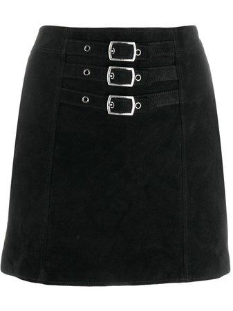 Saint Laurent buckle-embellished Mini Skirt - Farfetch