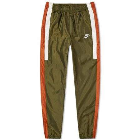 Nike Re-Issue Woven Pant Olive, Russet & Sail 1