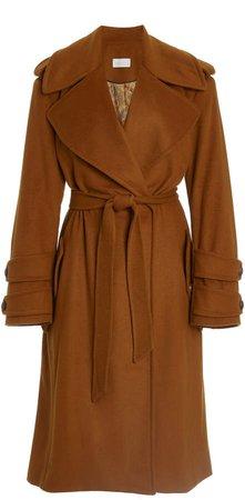 ARJE Tilda Wool-Blend Trench Coat