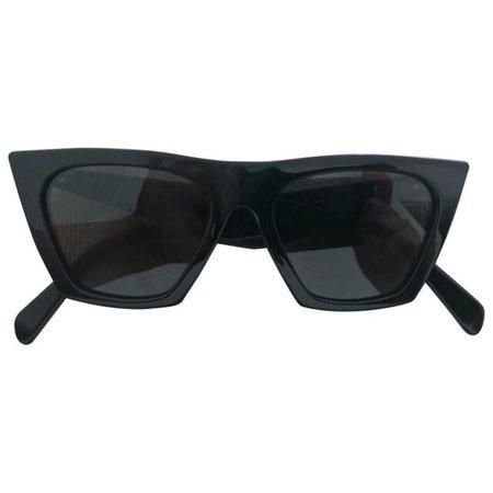 Celine Cl41468/s 807ir Black Cat Eye Sunglasses for sale online | eBay