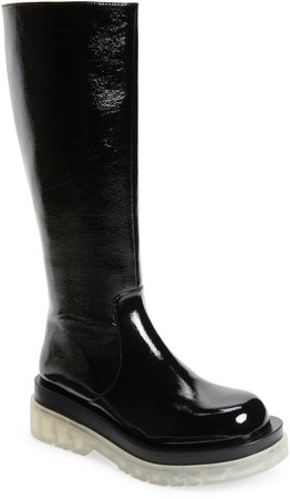 Tanked Knee High Boot