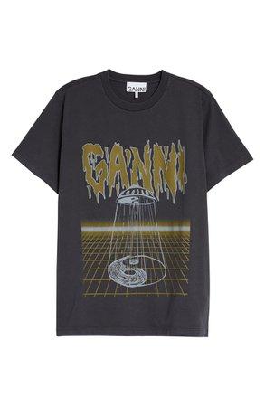 Ganni UFO Logo Graphic Tee | Nordstrom