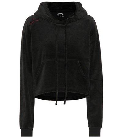 Hoya velour hoodie