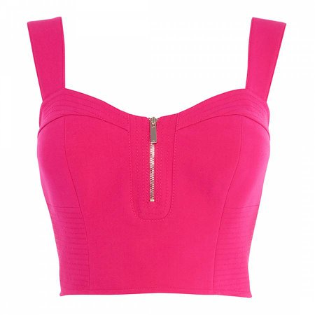 Hot Pink Crop Top