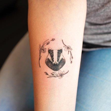 hufflepuff tattoo - Google Search
