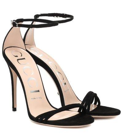 Suede Sandals | Gucci - mytheresa.com