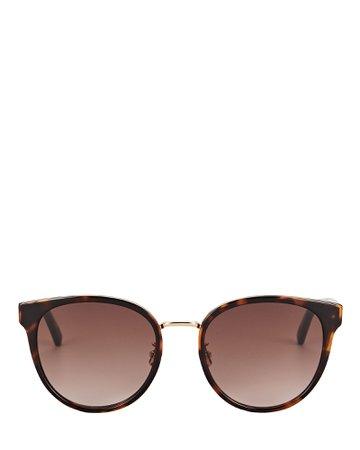 Bottega Veneta Oversized Rounded Sunglasses | INTERMIX®