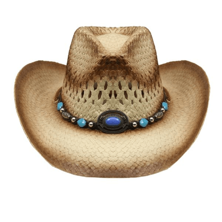Straw Cowgirl Hat