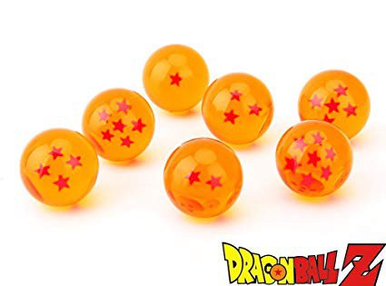 Amazon.com: CYRAN Dragon Ball Z Crystal Dragon Balls 7 Stars 7pcs Anime 3.5cm Dragon Balls Yellow: Toys & Games