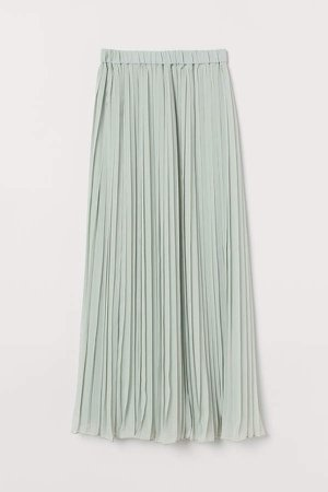 Pleated Skirt - Green