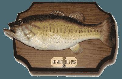 Talking Big Mouth Billy Bass Fish