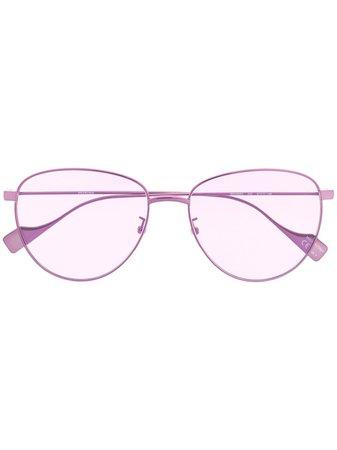 Balenciaga Eyewear Round Tinted Sunglasses Ss20 | Farfetch.com