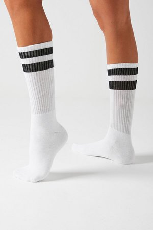 UO Striped Tube Sock | Urban Outfitters