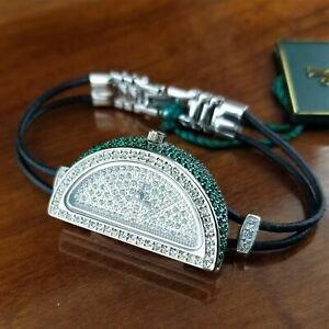 Crystal Lime Slice Bracelet