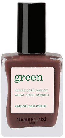 Green Nail Lacquer - Dark Tourmaline