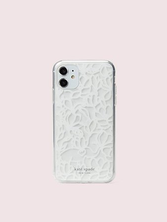 scribble flora iphone 11 case | Kate Spade New York