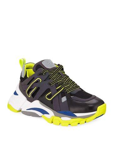 Ash Flash Runner Colorblock Sneakers | Neiman Marcus