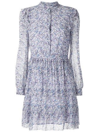 Michael Michael Kors Ruffle Floral Dress - Farfetch