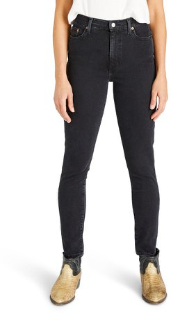 Atica Giselle High Waist Ankle Skinny Jeans