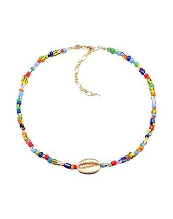Annı Lu Alaıa Cowry Shell - Necklace - Women Annı Lu Necklaces online on YOOX Turkey - 50239046RF