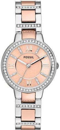 'Virginia' Crystal Bezel Bracelet Watch, 30mm