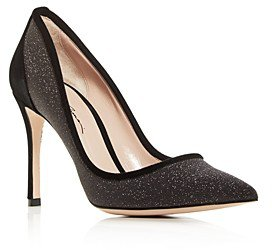 Women's Decolette Kitten-Heel Pumps