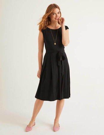 Kassidy Jersey Midi Dress - Navy