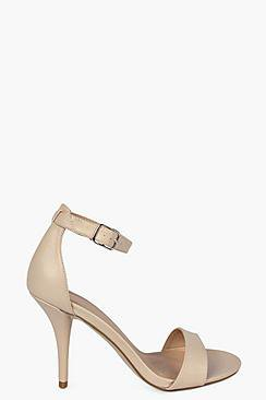 Zoe Ankle Skinny Mid Heel Two Parts
