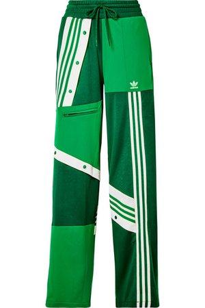 adidas Originals | + Daniëlle Cathari snap-embellished patchwork jersey track pants | NET-A-PORTER.COM