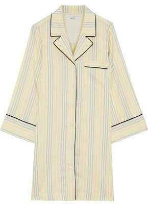 Bergamot Striped Silk Tunic