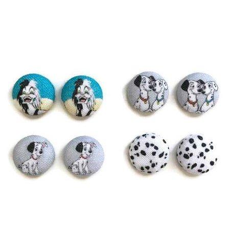 101 Dalmatians Earrings Set