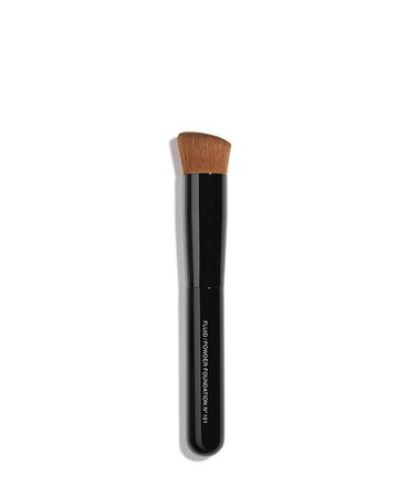 CHANEL LES PINCEAUX DE CHANEL Fluid/Powder Foundation Brush N°101 & Reviews - Makeup - Beauty - Macy's