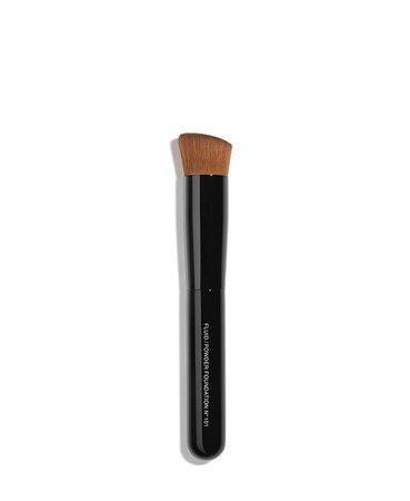 CHANEL LES PINCEAUX DE CHANEL Fluid/Powder Foundation Brush N°101 & Reviews - Makeup - Beauty - Macy's